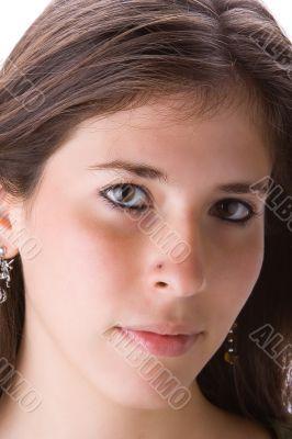 Teen close-up