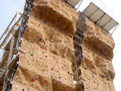 Artificial climbing wall