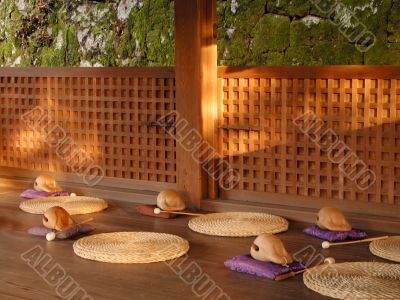 Meditation place
