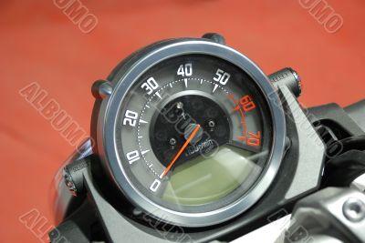 Tachometer of modern bike