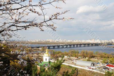 Kiev landscape from top
