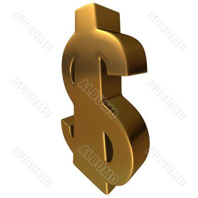 Dollar in Gold 4