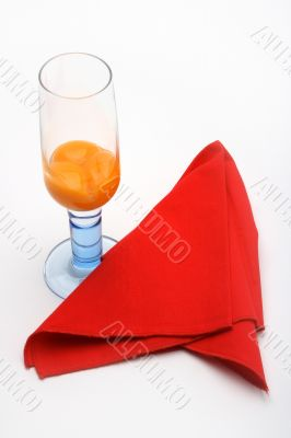 Champagne glass and eggs 3