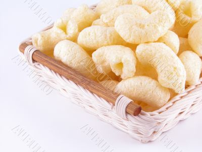 basket of snack for children