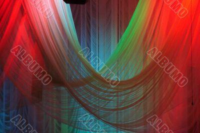 Scene background curtains