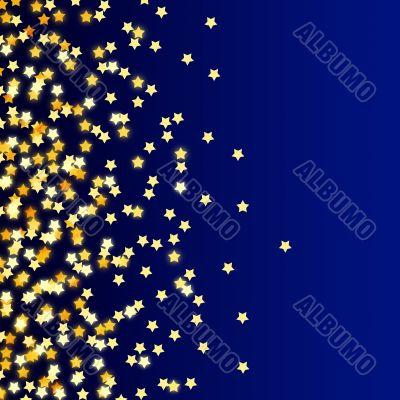 Stars shine background