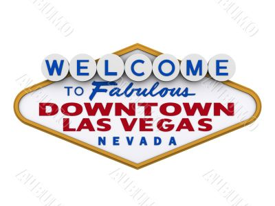 Las Vegas Downtown Sign 1