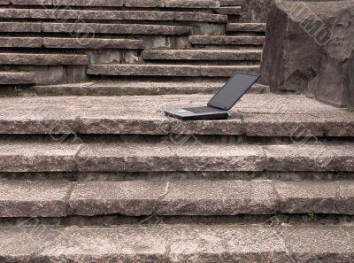 Laptop outdoor