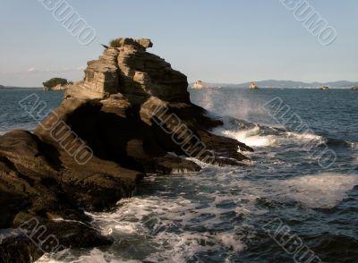 Wild ocean-scape