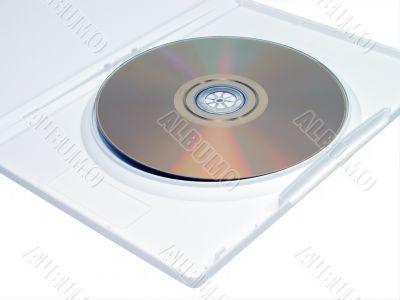 DVD in white case