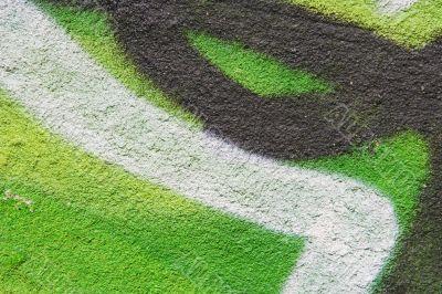 green acid wall