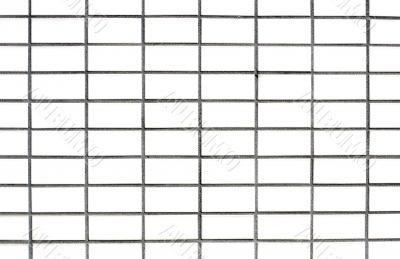 White wall grid pattern