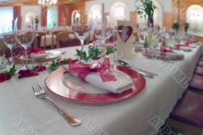 Tisch Dekoration | table decoration