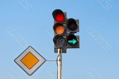 Traffic Lights (Red & Yellow Light)