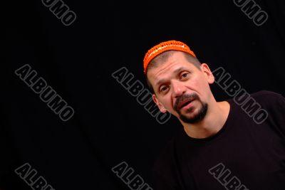 mann mit haube | man with hat
