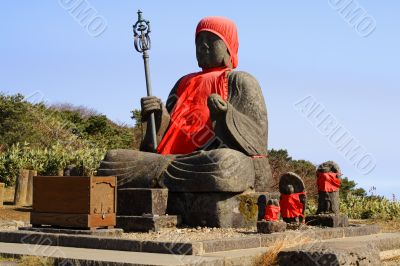 Big Buddha statue-Zao Mountain