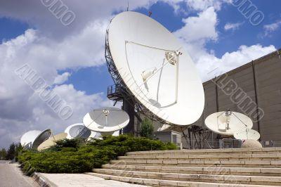 satellite dish tv