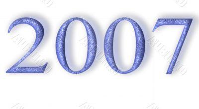 2007 blue