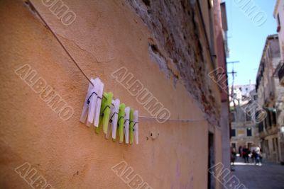 Urban Washing Line