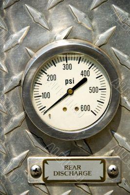 Fire truck gauges