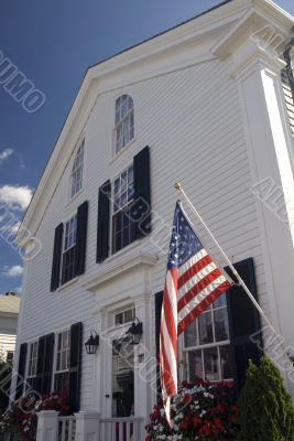 Traditional Colonial House