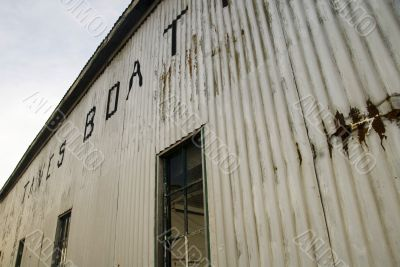 Corrugated Iron Boathouse