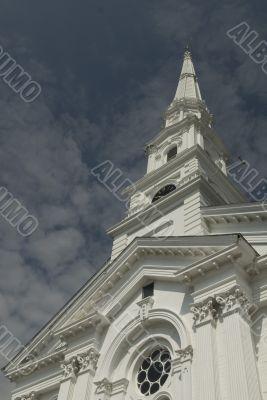 New England Church Spire