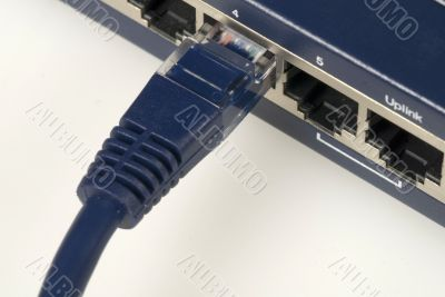 Ethernet Cable & Router