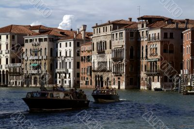 Water Taxis on the Grand Canal