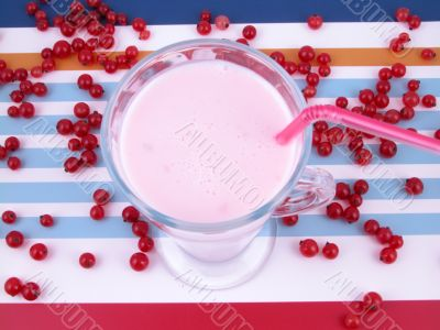 red currant smoothie