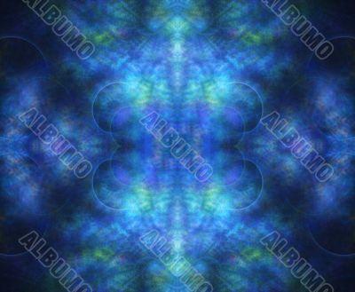 Textured Blue Glow
