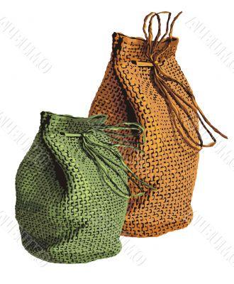 wicker sacks