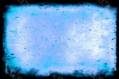 Blue aged paper