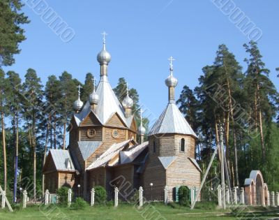 provincial Russia, building of the cult
