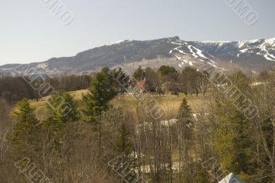 Mountains near Stowe Vermont