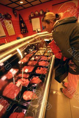 Butcher`s shop