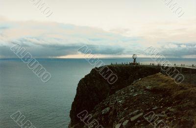 north cape cliff