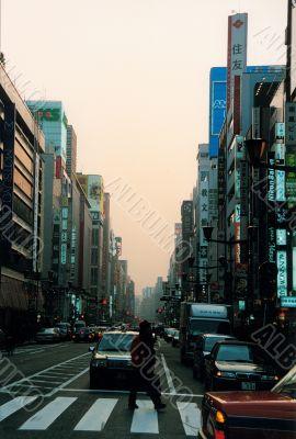 street in tokio
