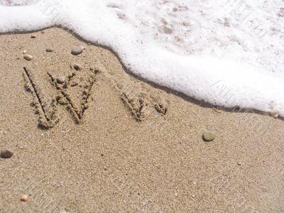 WWW on sand