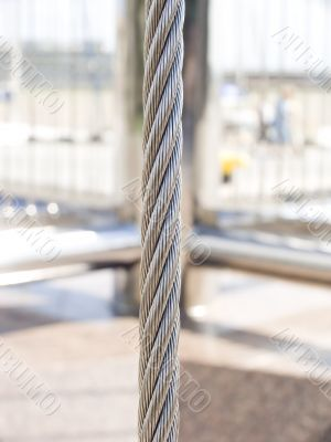Cable close up