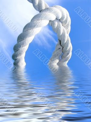 knot above water