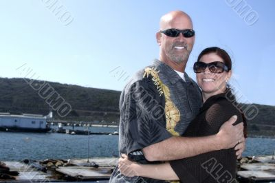 Stan and Sonia get married on the ocean