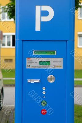 parking ticket automat