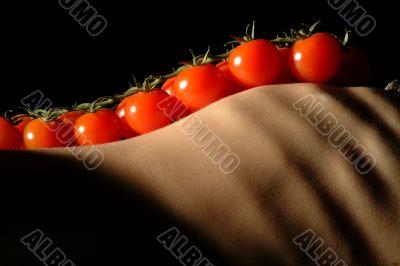 tomatoes on torso