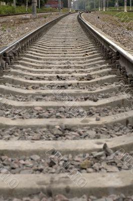 broad-gauge line