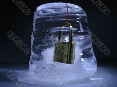 Frozen padlock