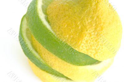 lime lemon macro
