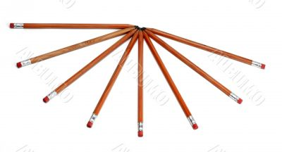Wooden crayons star