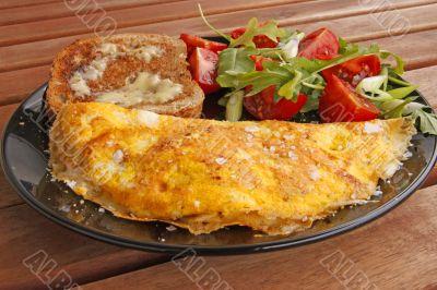 omelette lunch
