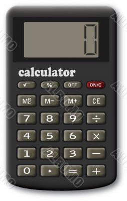 The financial calculator.
